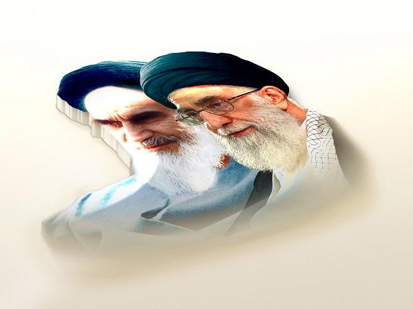 عکس امام و رهبری جدید
