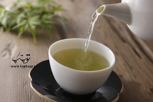 فواید چای سبز برای مو