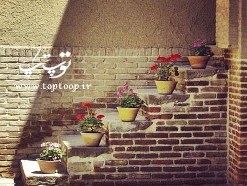 شعر حیاط خانه قدیمی