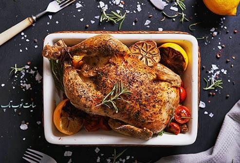 گوشت فاقد چربی و مرغ و تاثیر آن در چشم