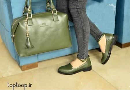 مدل کیف های زنانه و جدید رنگ سبز 2019