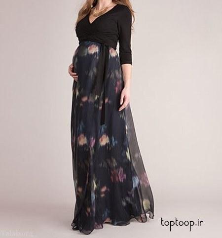 مدل لباس بارداری بلند و پوشیده