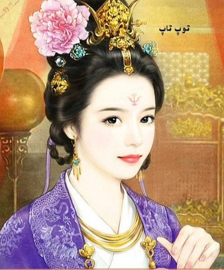 عکس فانتزی دختر طراحی شده توسط تیم سایت توپ تاپ