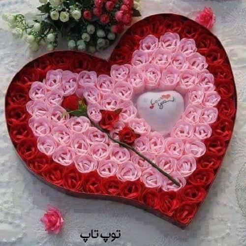 عکس قلب گل برای پروفایل