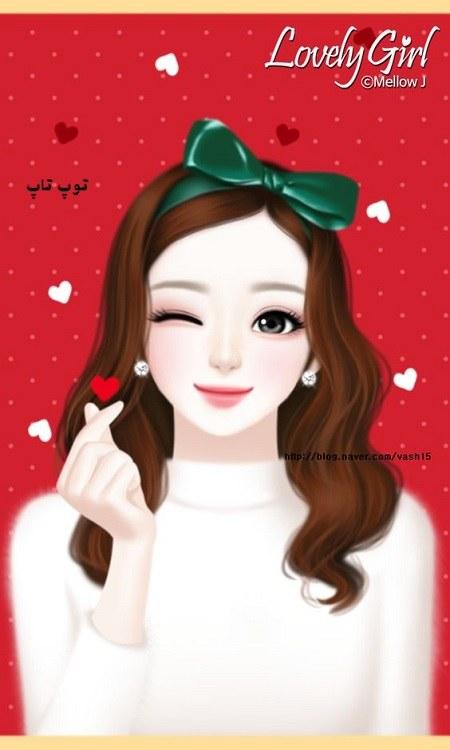 عکس فانتزی دختر برای پروفایل با طرح های زیبا و مختلف دختران کره ای و ایرانی