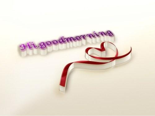 عکس نوشته سلام و صبح بخیر به زبان انگلیسی