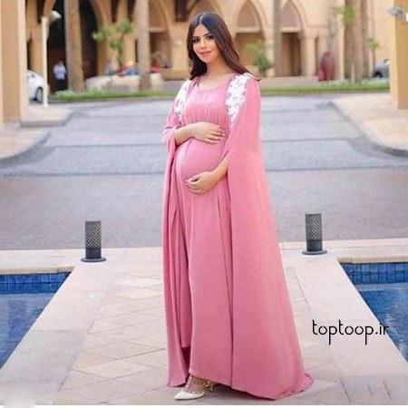 مدل لباس بارداری برای تابستان طراحی شده در سال 98