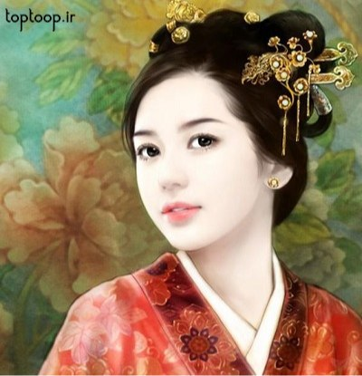 عکس پروفایل دخترانه کارتونی کره ای