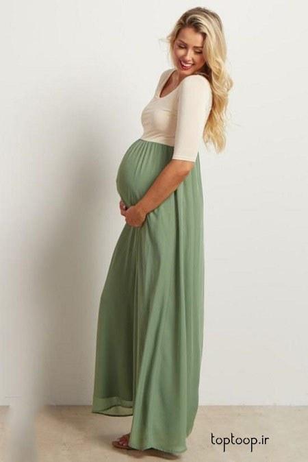 عکس لباس حاملگی مجلسی 98 جدید