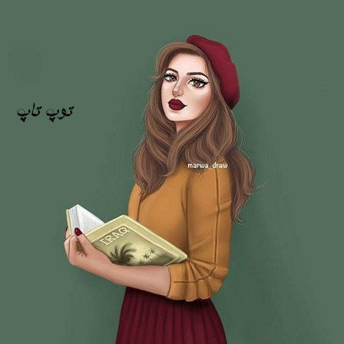 عکس پروفایل کارتونی دختر 2019 جدید