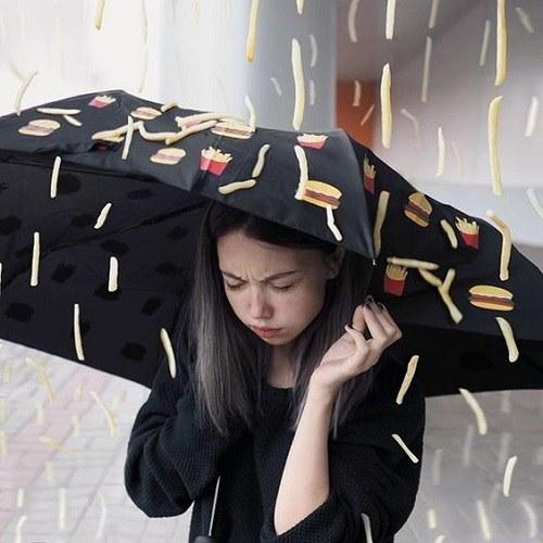 عکس های هنری دخترانه با چتر