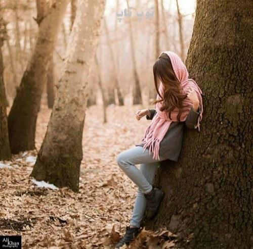 عکس پروفایل زنانه غمگین بدون متن