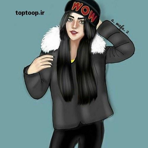 عکس اسپرت دخترانه با لباس های زمستانی