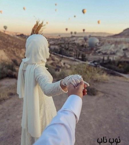 عکس پروفایل عاشقانه دست دونفره 98 جدید