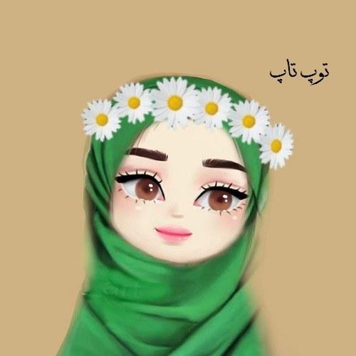 عکس پروفایل دخترانه نقاشی دختر بچه بانمک و خوشجل