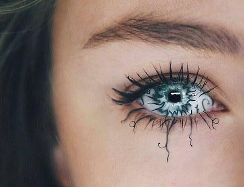 تصاویر چشم دخترونه هنری بسیار زیبا مناسب پروفایل