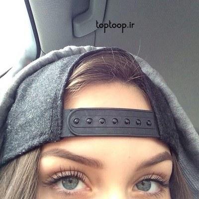 عکس چشم دختر برای پروفایل