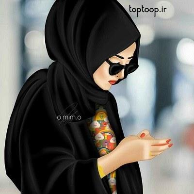 عکس از دختر حجابی برای پروفایل