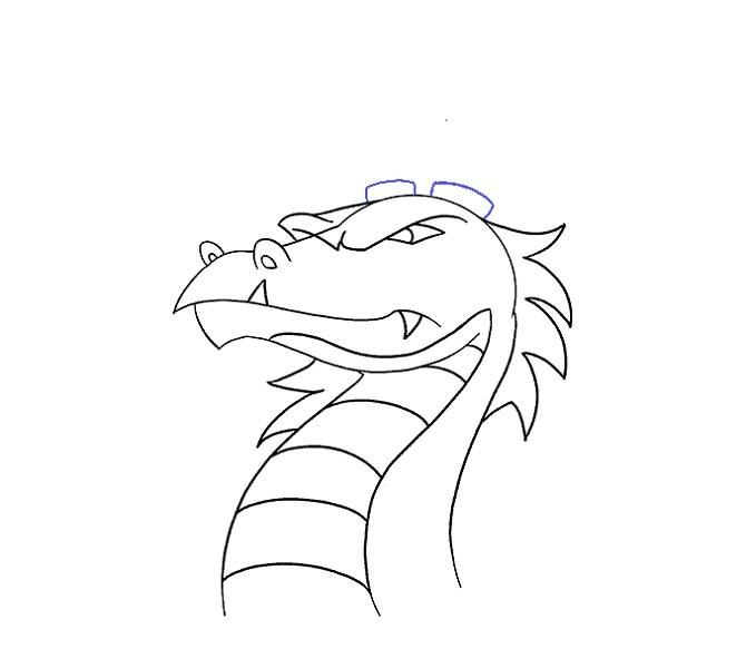 نقاشی سر اژدها مرحله هجدهم