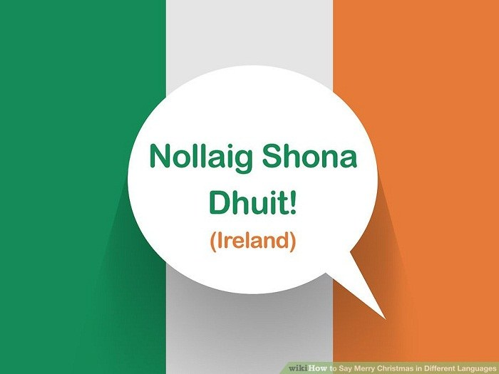 تبریک کریسمس به زبان ایرلندی