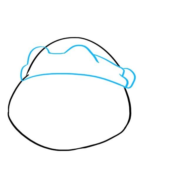 آموزش نقاشی لاک پشت نینجا مرحله سوم