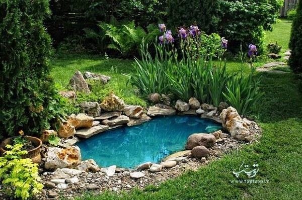 تعبیر خواب حوض آبی رنگ