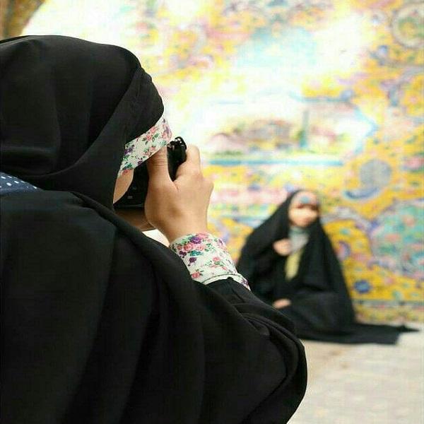 عکس دختر چادری برای پروفایل تلگرام