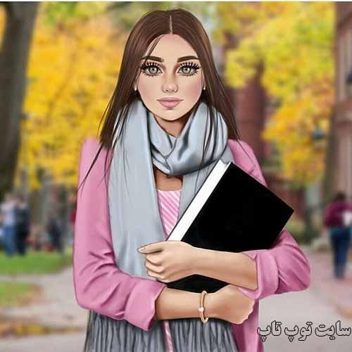 عکس پروفایل دخترونه دبیرستانی