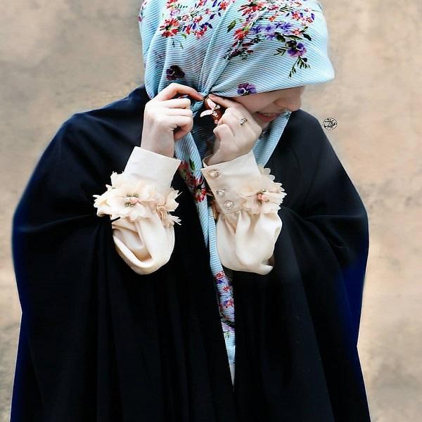 عکس دختر چادری خوشگل