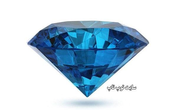 تعبیر خواب الماس آبی