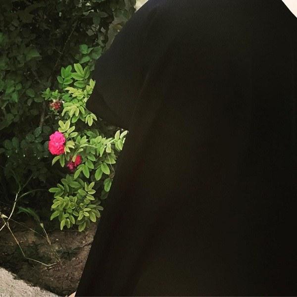 متن دختر چادری + عکس