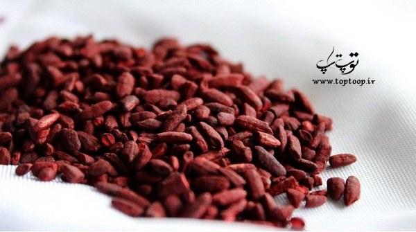 مکمل طبیعی برنج مخمر قرمز
