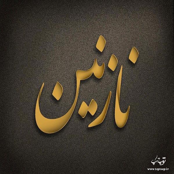 عکس نوشته اسم نازنین برای پروفایل