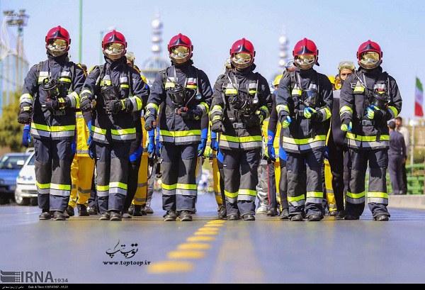 معرفی شغل آتش نشانی به زبان انگلیسی