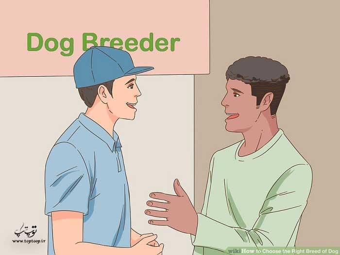 جستجو برای پرورش دهنده نژاد خاص سگ