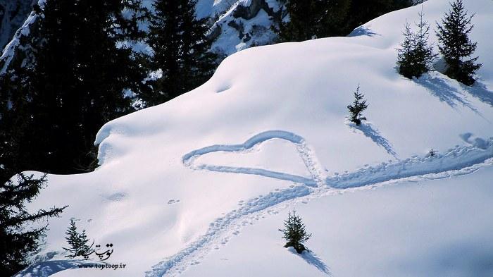شعر برای زمستان و برف