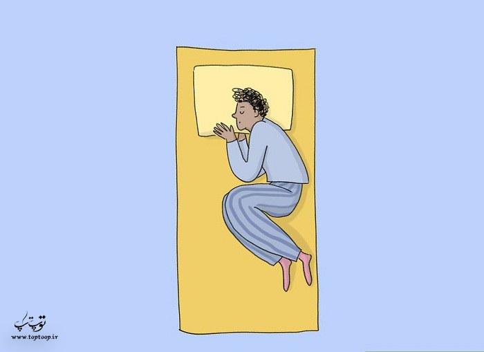 برگشت به رختخواب و دراز کشیدن