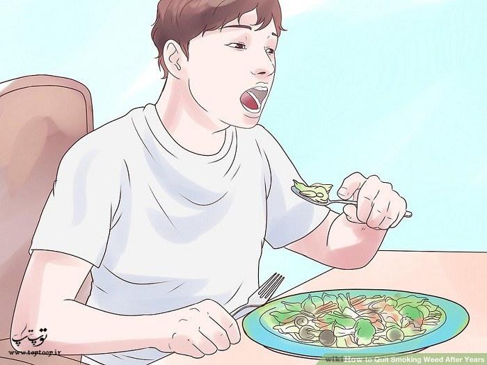 افزایش مصرف سبزیجات و میوه