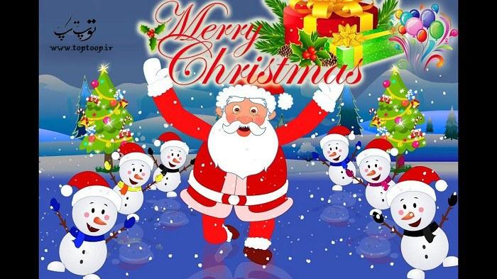 متن عاشقانه انگلیسی برای تبریک کریسمس با ترجمه