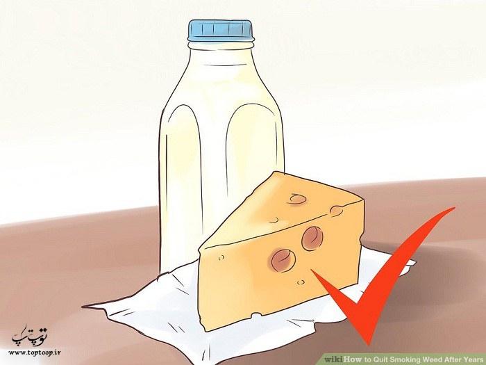 شیر و پنیر بیشتر استفاده کنید