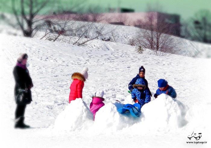 شعر کوتاه درباره زمستان و برف