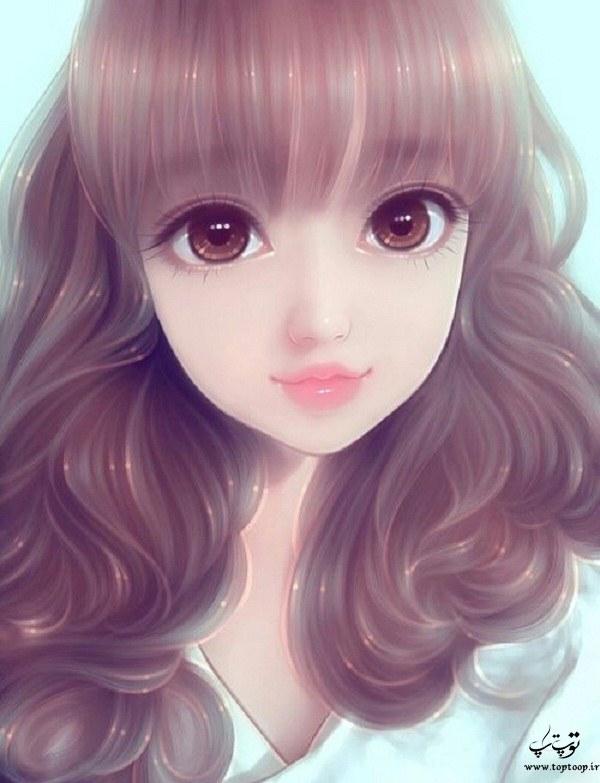 عکس پروفایل نقاشی دخترونه 2020