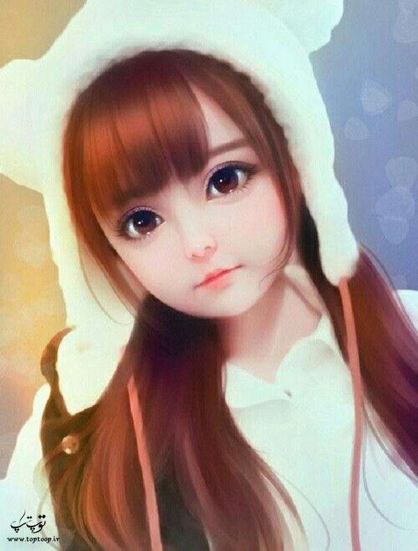 توپ تاپ نقاشی دخترونه جدید فانتزی باشه
