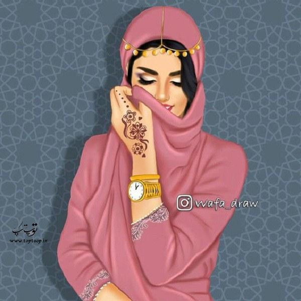 نقاشی دخترونه 1399 جدید