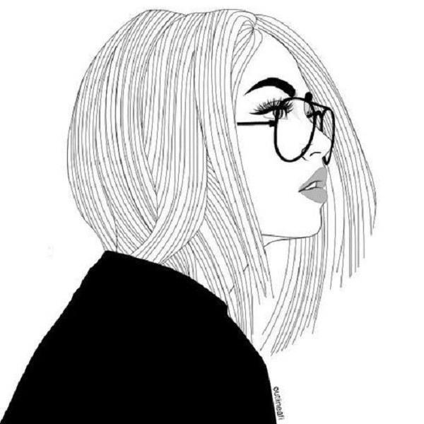 عکس دخترونه فانتزی سیاه و سفید 2020-1399