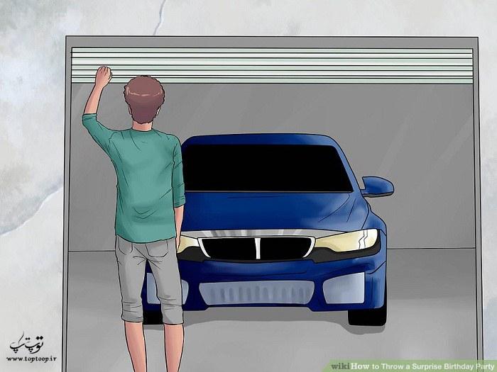 مخفی کردن اتومبیل ها