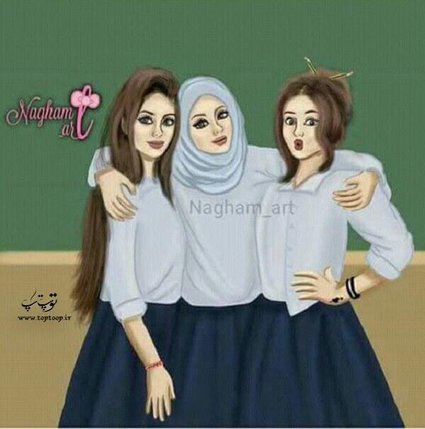 عکس فانتزی دخترونه 3 نفره
