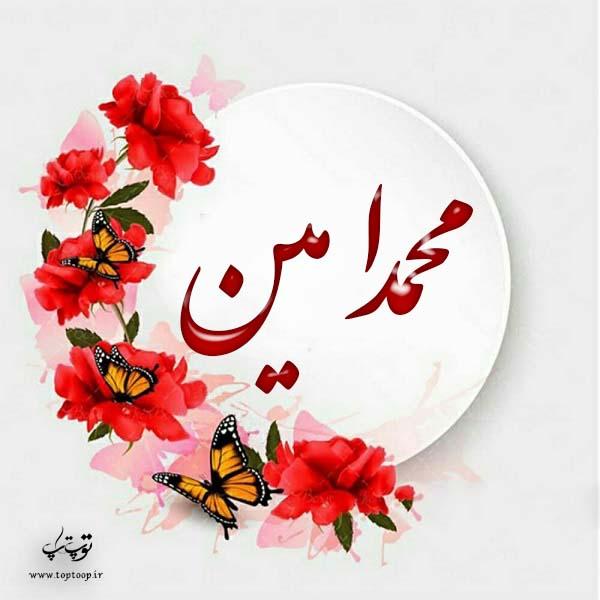 لوگوی اسم محمدامین