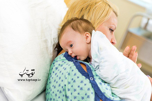 برای آروغ زدن نوزادمان چه کارهایی انجام دهیم