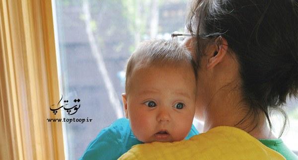 چند نکته ی مهم در مورد آروغ زدن نوزاد